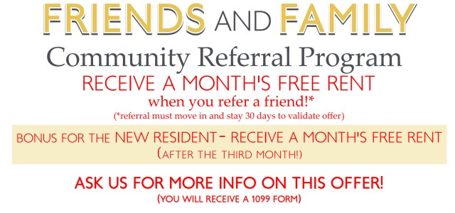 Senior Living - Indianapolis - Referral Program